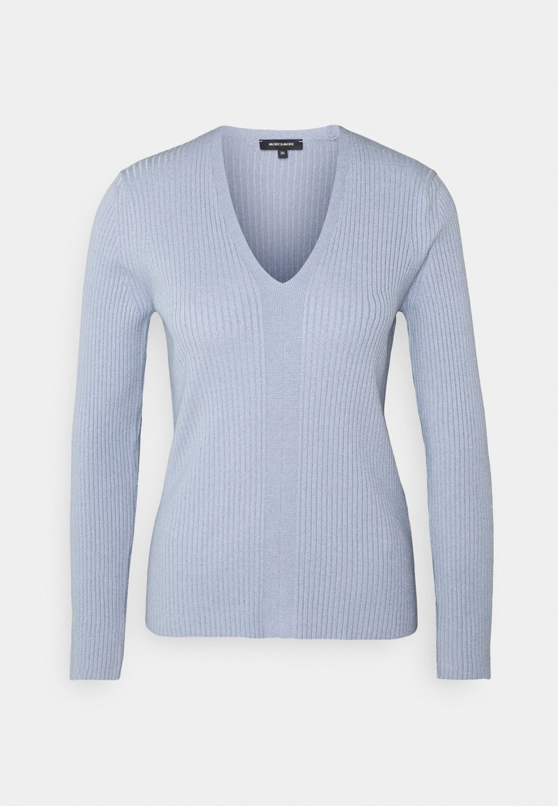 More & More - 1/1 SLEEVE - Trui - cloudy blue
