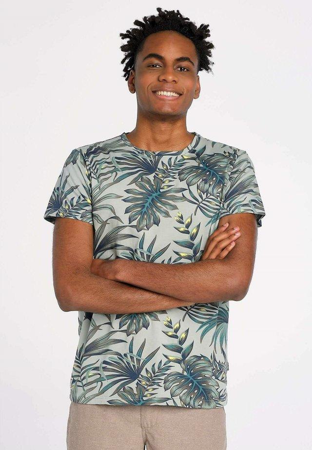 T-shirt print - groen