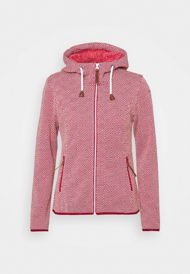 Icepeak - URSA - Fleece jacket - burgundy