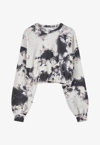 PULL&BEAR - Sweatshirt - mottled beige - 4