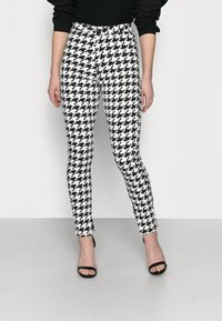 Missguided Petite - DOGTOOTH VICE - Jeans Skinny Fit - multi - 0