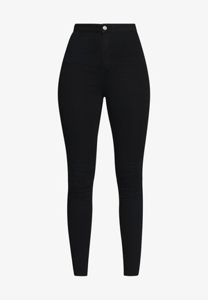 VICE HIGHWAISTED - Jeans Skinny Fit - black
