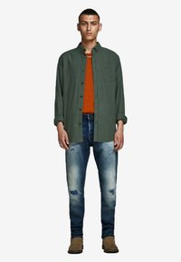 Jack & Jones - Skjorter - olive night - 1