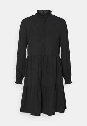 PCLULLA DRESS - Shirt dress - black