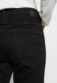 G-Star - ARC 3D LOW BOYFRIEND - Jeans Tapered Fit - nero black/denim jet black - 4