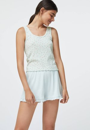 DITSY FLORAL COTTON - Shorts - white