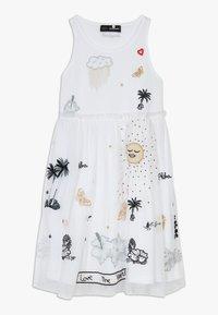 Desigual - TUXTLA - Sukienka z dżerseju - blanco - 0
