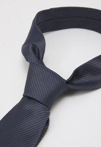 Calvin Klein - MICRO UNSOLID SOLID TIE - Tie - black - 5