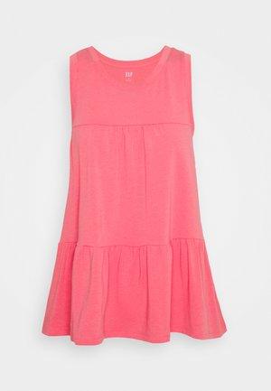 PEPLUM TANK - Print T-shirt - capri pink