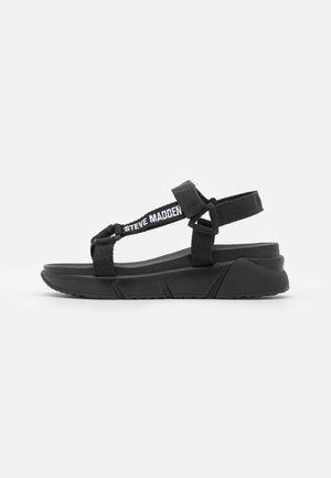 HESSEL - Sandalias con plataforma - black
