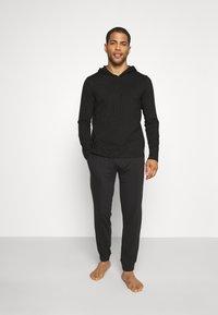 Polo Ralph Lauren - HOODIE - Pyjama top - black - 1