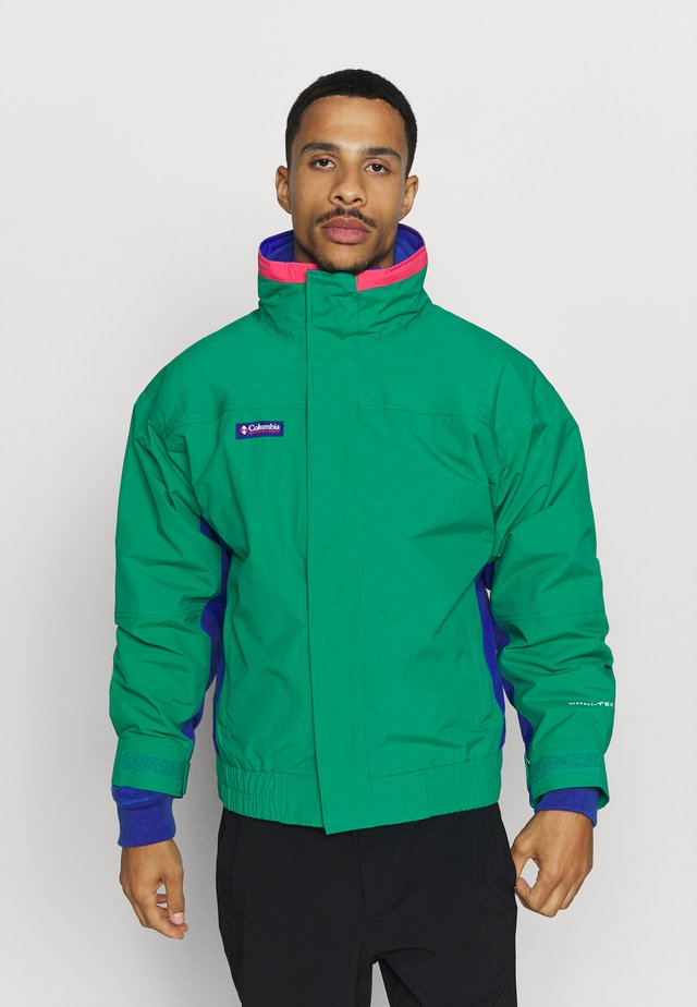 BUGABOO 1986 INTERCHANGE 2 IN 1 JACKET - Ulkoilutakki - emerald green/lapis/bright geranium
