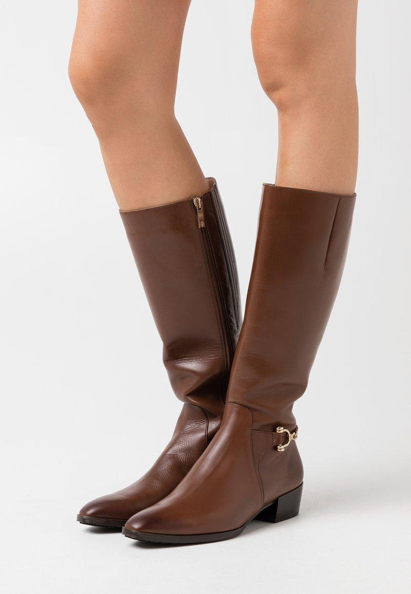 Högl - Vysoká obuv - nougat