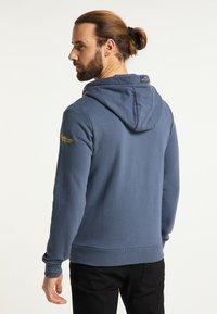 Schmuddelwedda - Zip-up hoodie - rauch marine - 2