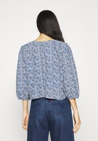 ONLY - ONLSHAKIRA - Long sleeved top - cloud dancer/blue ditsy - 2