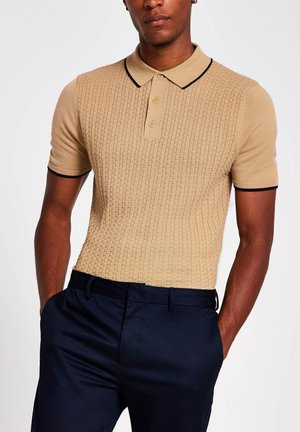 Polo shirt - stone