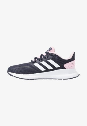 RUNFALCON - Neutrala löparskor - legend ink/footwear white/clear pink