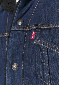 Levi's® - TYPE 3 SHERPA TRUCKER - Kurtka jeansowa - evening - 6