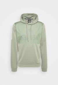 adidas Performance - MUST HAVES AEROREADY  - Hoodie - leggrn - 3