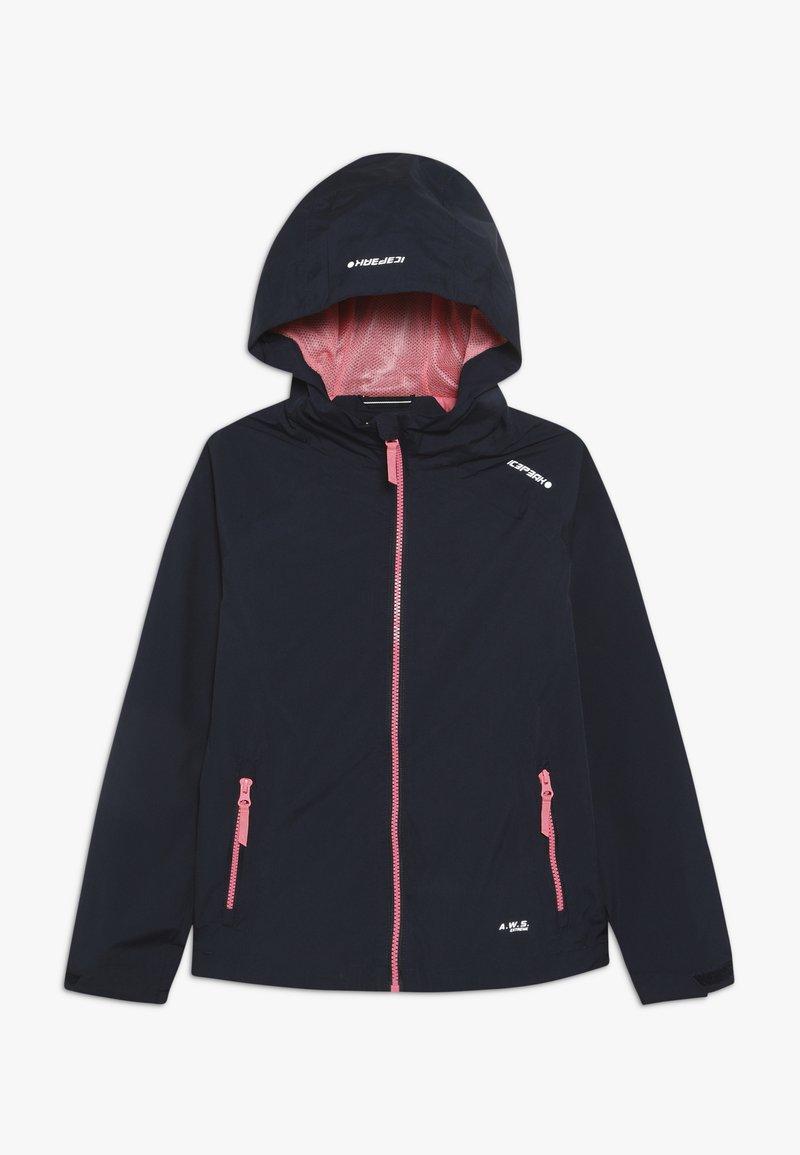 Icepeak - KENOVA - Vodotěsná bunda - dark blue