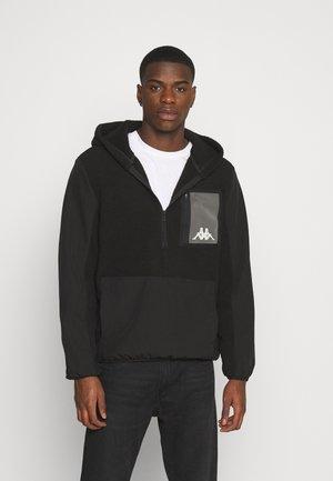 DAVE - Fleece jumper - black