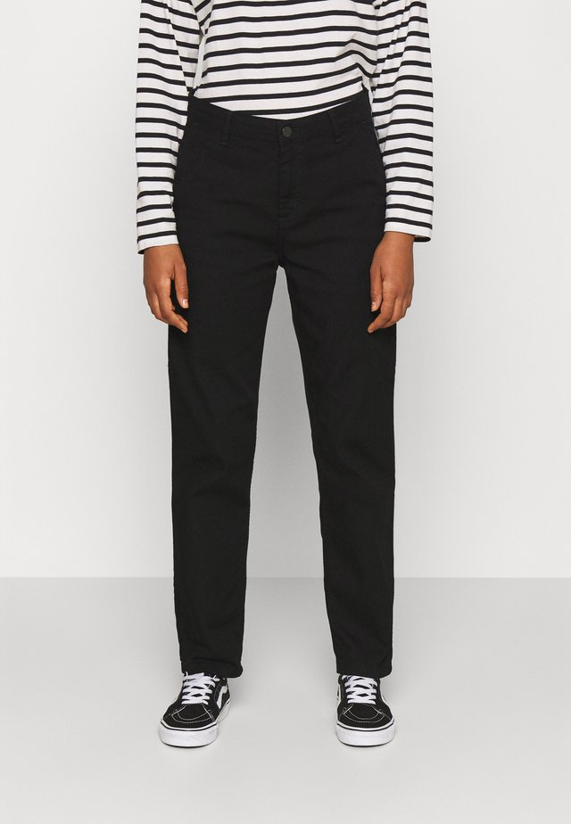 PIERCE PANT - Pantaloni - black