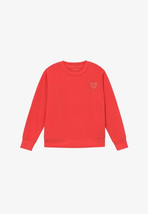 CROP - Felpa - light red