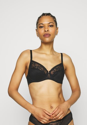 INSTANTS BRA VERY COVERING - Underwired bra - black