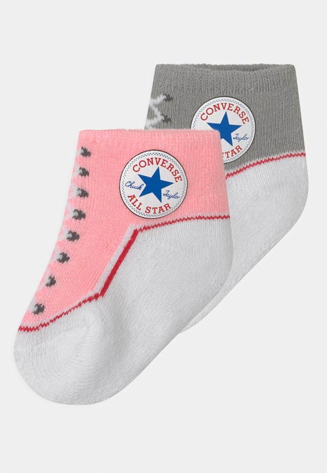 CHUCK TODDLER 2 PACK UNISEX - Socks - storm/pink