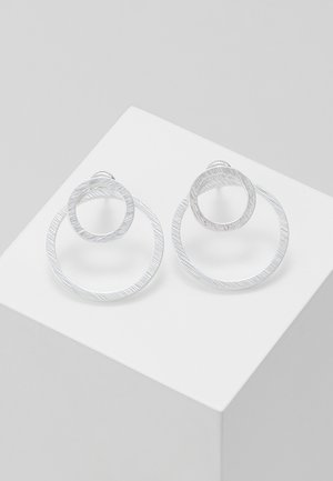 EARRINGS - Pendientes - silver-coloured