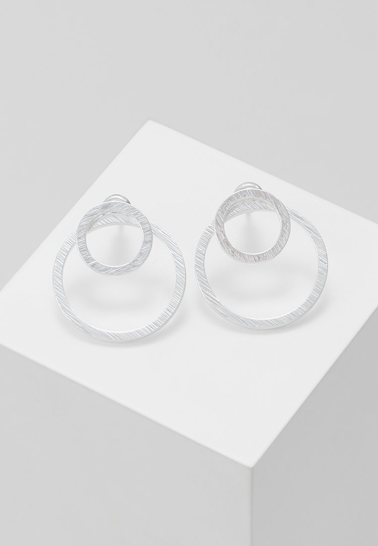 Pilgrim - EARRINGS - Pendientes - silver-coloured