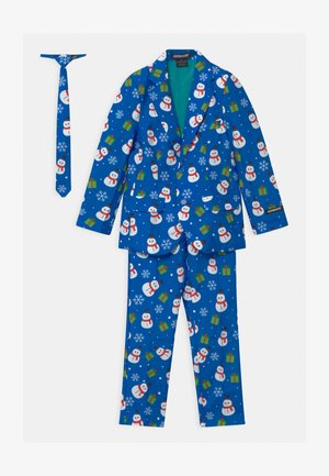 BOYS CHRISTMAS SNOWMAN SET - Costume - blue