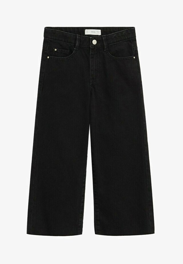 CULOTTEN - Straight leg jeans - black denim
