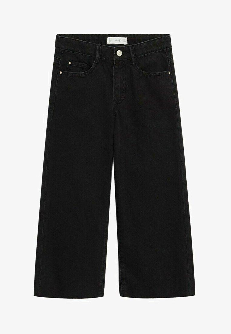 Mango - CULOTTEN - Jeans a sigaretta - black denim