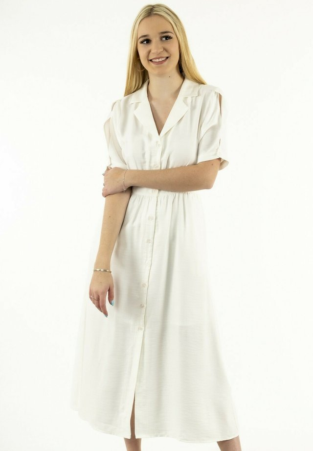 Robe chemise - blanc