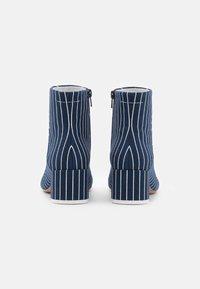MM6 Maison Margiela - BOOT - Classic ankle boots - true blue/white - 2
