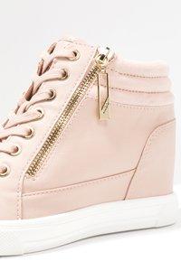 ALDO - AELADDA - Sneakers high - light pink - 2