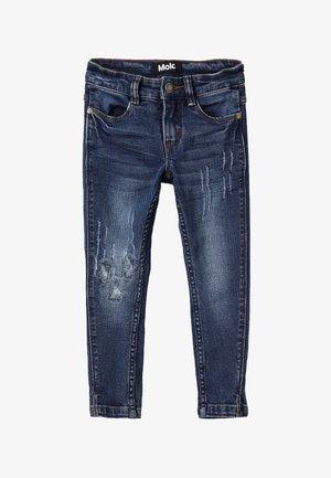 ALLISON - Slim fit jeans - dark blue denim