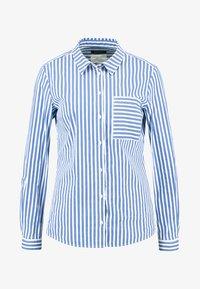 Marc O'Polo - BLOUSE KENT COLLAR LONG SLEEVED - Button-down blouse - combo - 4
