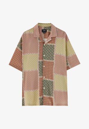 MIT PAISLEY-PRINT - Shirt - brown