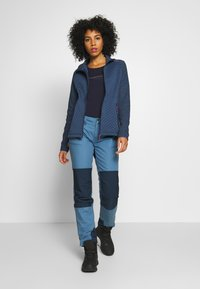 CMP - WOMAN JACKET - Fleecejakker - blue - 1