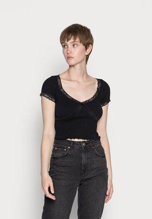 CROSS BABY TEE - T-shirts med print - black