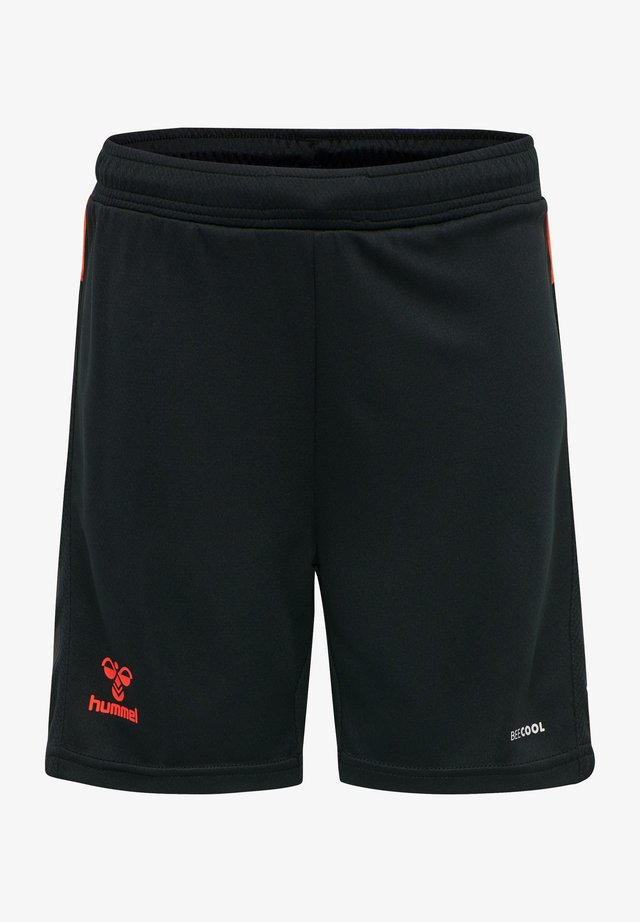ACTION  - Shorts - black/fiesta