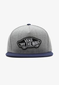 Vans - MN CLASSIC PATCH SNAPBACK - Cap - heather grey/dress blues - 0