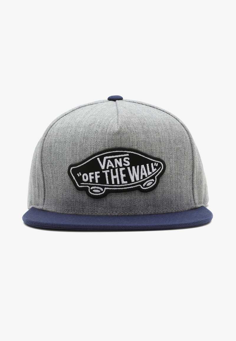 Vans - MN CLASSIC PATCH SNAPBACK - Cap - heather grey/dress blues