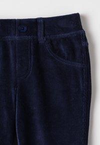Benetton - TROUSERS - Kalhoty - dark blue - 3