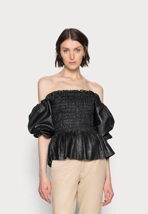 TAYA - T-shirt med print - black