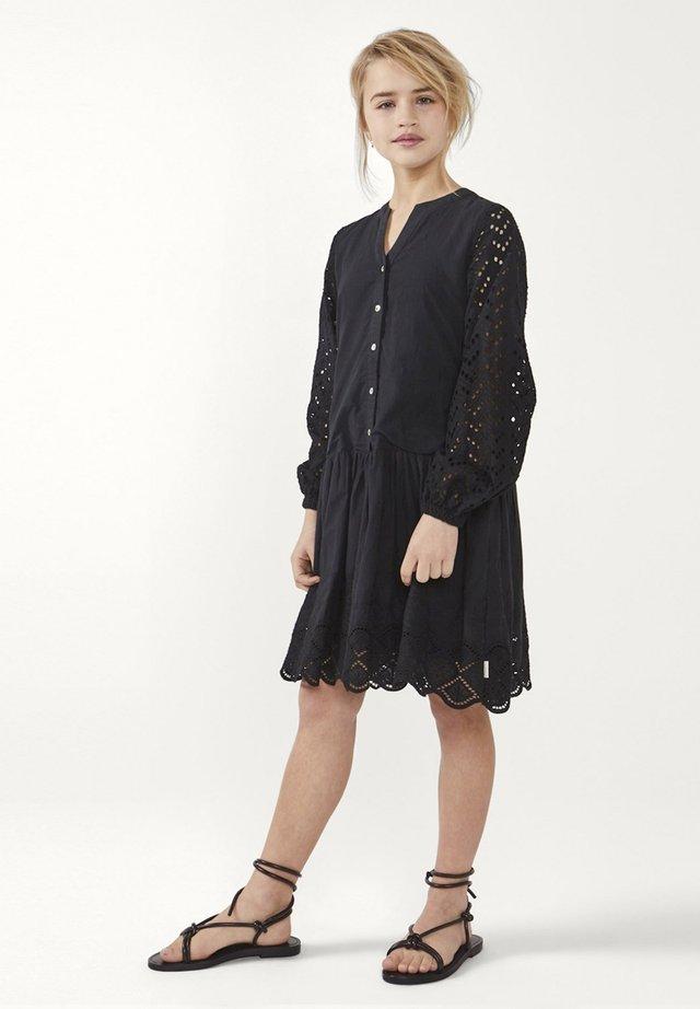 CYLIAN CO - Shirt dress - zwart