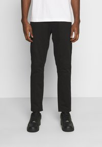 Tommy Jeans - SCANTON PANT - Chinosy - black - 0