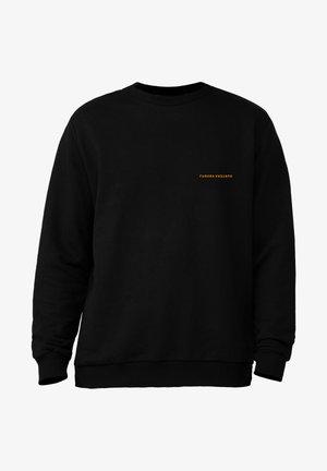 SWEATSHIRT SNAKE M/L - Long sleeved top - black
